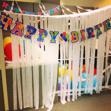decorating coworkers desk for birthday office design office birthday decoration ideas 50th office desk
