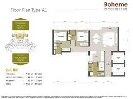 block a alia floor plan setia sky residences klcc