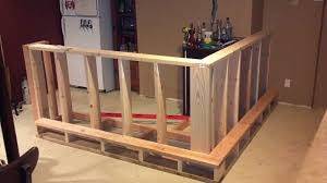 Easy Basement Bar Ideas Basement Bar Build I Would Cover The Outside With Those