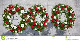 memorial wreaths stock photo image 55792396