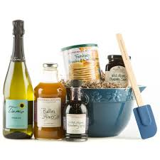 breakfast u0026 bubbles sparkling wine gift basket wine com