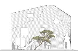 mad architects design clover house kindergarten in japan