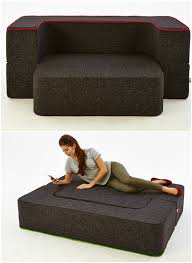cool foot stool turns into a bed in seconds living in a shoebox