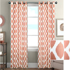 Orange And White Curtains Curtain Orange And White Curtains Orange And White Horizontal
