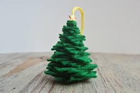 hello wonderful easy diy felt christmas tree ornament
