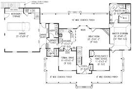 Farm House Plan Farmhouse Style House Plan 3 Beds 2 50 Baths 2645 Sq Ft Plan 11 211