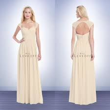 how much are bill levkoff bridesmaid dresses 2016 bill levkoff bridesmaid dress chagne neck