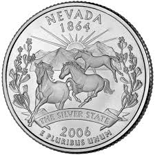 First State Quarters Of The United States Collectors Map by Nevada State Quarter U S Mint