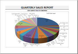Monthly Sales Report Template Excel Quarterly Sales Report Template For Excel Excel Templates