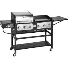 outdoor gourmet pro triton 7 burner propane grill and griddle