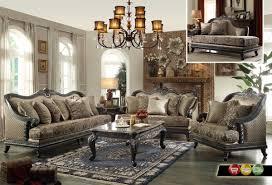 sofas center elegant sofa set metallic pearl button tufted