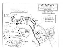 Ccsu Map 6 05 2015 U2013 Bank Street Theater Moonlight Run 5k Fast Track Timing