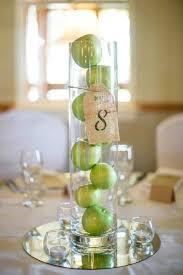 Simple Wedding Centerpieces Ideas by Simple Wedding Centerpieces With Green Appleswedwebtalks Wedwebtalks