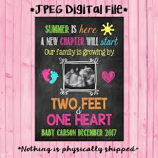 summer ultrasound pregnancy announcement sonogram summer