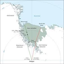 Nova Map File Antarctic Expedition Map Amundsen Scott De Svg