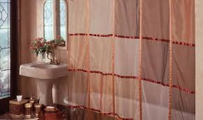 Bathroom Window Valance Ideas 100 Bathroom Curtain Ideas Shower Curtains For Freestanding
