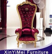 King Chair Rental Throne Chair Cheap Home Chair Decoration