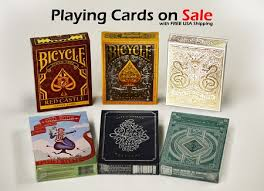 6 decks set cards on sale castle bicycle