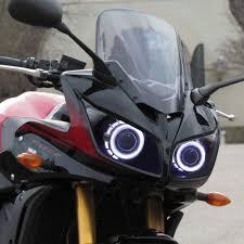 kt headlight suitable for yamaha fz1 fz1s 2006 2015 led angel halo