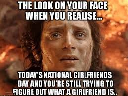 Meme Girlfriend - national girlfriend day meme free images pictures and templates