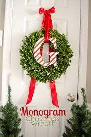 monogram wreath tutorial wreaths monograms and diy