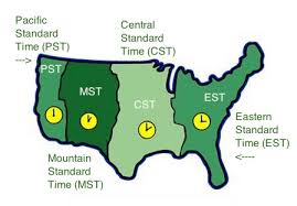 usa time zone map est coordinating meetings at end of daylight savings time authentic