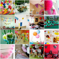 simple birthday decoration at home exciting simple decoration ideas for party 35 for interior