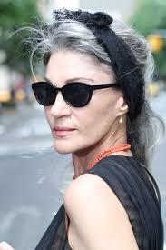glamorous styles for medium grey hair advanced style the glamorous advanced style ladies women ageing