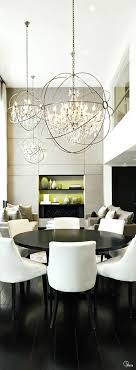 Dining Room Chandeliers Pinterest Modern Dining Room Chandelier Best 25 Modern Dining Room