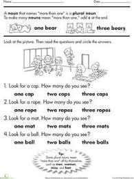 grammar worksheets starters nouns 2 pinterest grammar