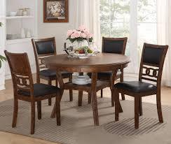 dining room set 5 dining room set brown furniture