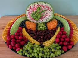 creative fruit arrangements themed fruit carvings