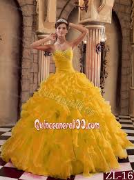 gold quince dresses 2013 gold sweet 15 dresses with ruffled organza on sale