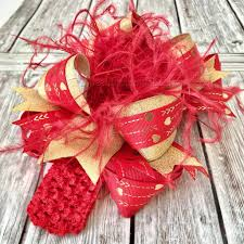 big christmas bows buy and gold valentines hair bow s day