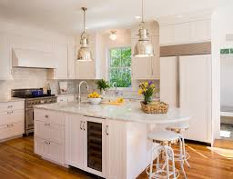 coastal victorian kitchen ideas features white beadboard cabinet