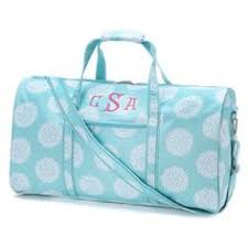 monogrammed bags or personalized bags from the palm gifts on etsy