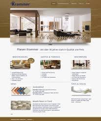 webseiten design re design webseite fliesen krammer elvira beck design
