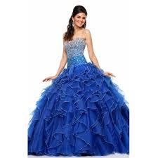 blue quinceanera dresses aliexpress buy princess popular debutante gown navy