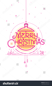 merry seasons greetings happy new stock vector 529033177