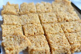crispy rice treats sugar free gluten free marshmallow free