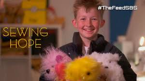 sewing teddy bears for sick kids meet 12 year old campbell the