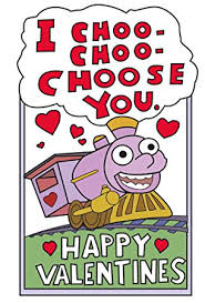 simpsons valentines day card i choo choo choose you valentines card for him the