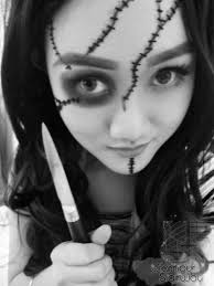 white face halloween makeup halloween makeup tutorial u2013 chucky wannabe keiko xoxo