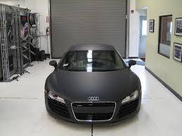 Audi R8 Matte - audi r8 convertible matte black wallpaper 1024x768 3262