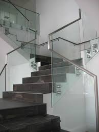 Stainless Steel Handrails For Stairs Metal Handrail U0026 Guardrail Systems Made With Steel U0026 Glass
