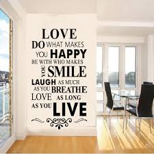 popular quote art wall stickers house rules buy cheap quote art
