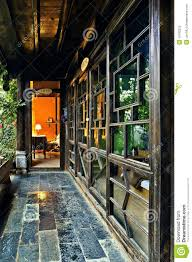 Chinese Home Ancient Chinese House Interior Stock Photo Image 19793520