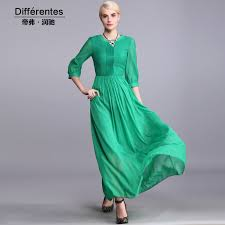 turmec plus size long sleeve green dress