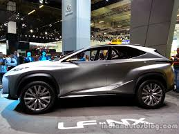 lexus lf nx profile of the lexus lf nx concept indian autos blog