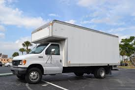 ford powerstroke diesel 7 3l for sale box truck e450 low miles 35k